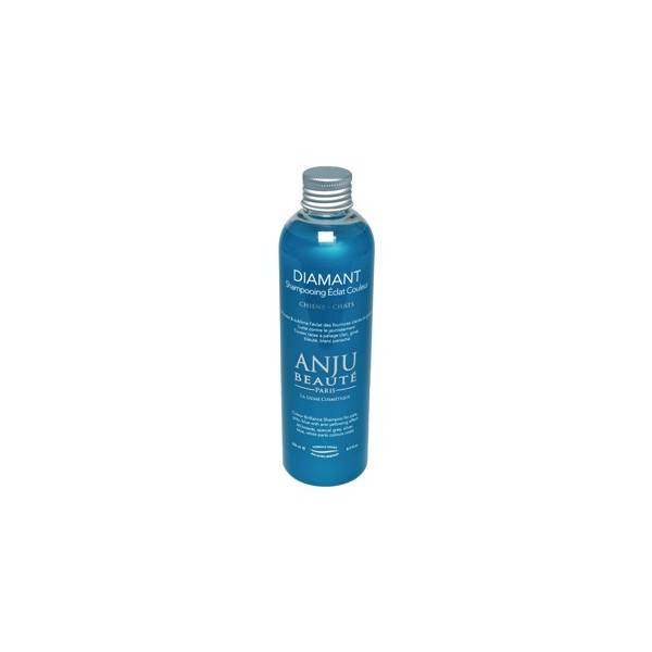 Anju Beauté - Shampoo For Dogs and Cats with Gray Coat - Diamant 250ml