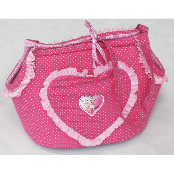 Semi-rigid Carrier Bag for Dogs Carrier DeLuxe Leopard