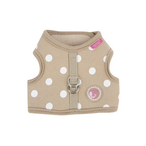 Pinkaholic - Adjustable Vest Harness - Sassa Pinka Harness Nara - Beige