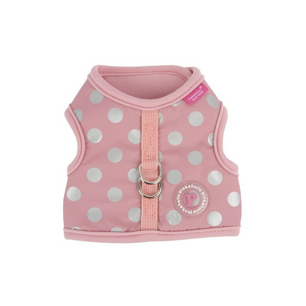 Pinkaholic - Adjustable Polka Dots Harness - Chic Pika Harness Nara - Pink