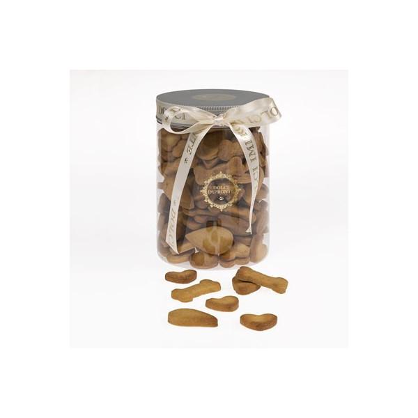 Dolcimpronte - Biscotti Mignon Misti in Vasetto Cilindrico 500gr ( ASL Prot.0088901/16)