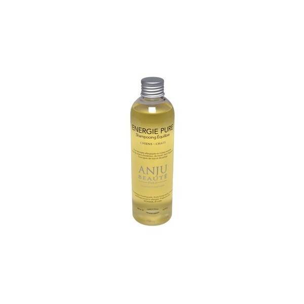 Anju Beauté - Shampoo Dogs or Cats - delicate skin - without fragrance - Energie Pure - 250 ml