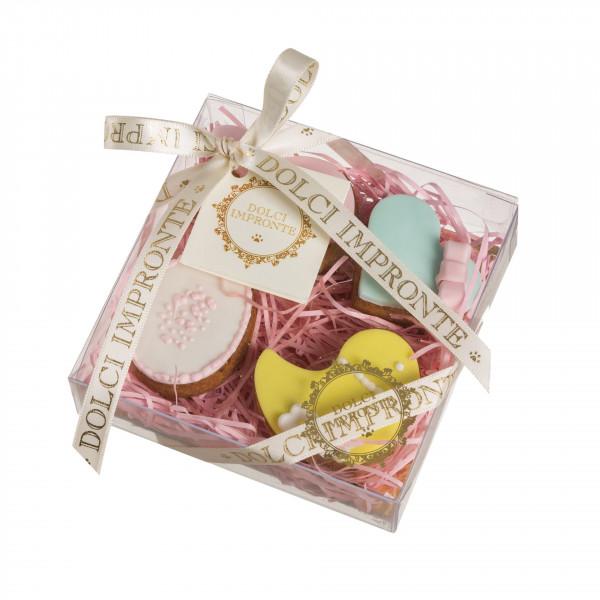 Dolcimpronte - Sweet Easter Four 70 gr - Pack of 4 biscuits (ASL Prot.0088901 / 16)