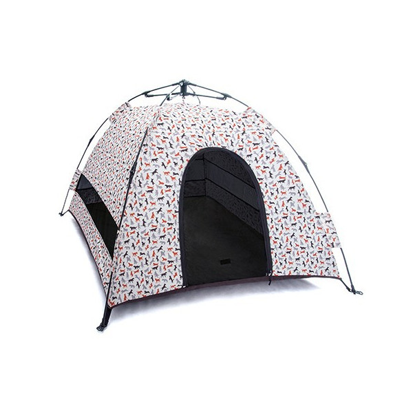 PLAY - Outdoor Camping Tent for Dogs - Mocha