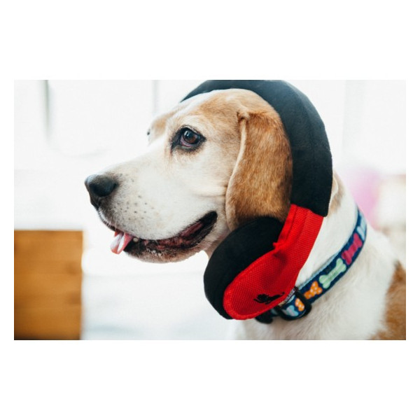 Play  -  Globetrotter Dog Toy Headphone