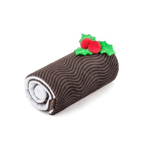 PPlay - Christmas Dog Toys - Holiday Classic Collection - Yule Log