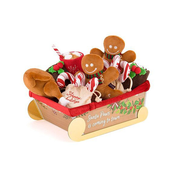 Play - Christmas Set with Sleigh -15 pieces