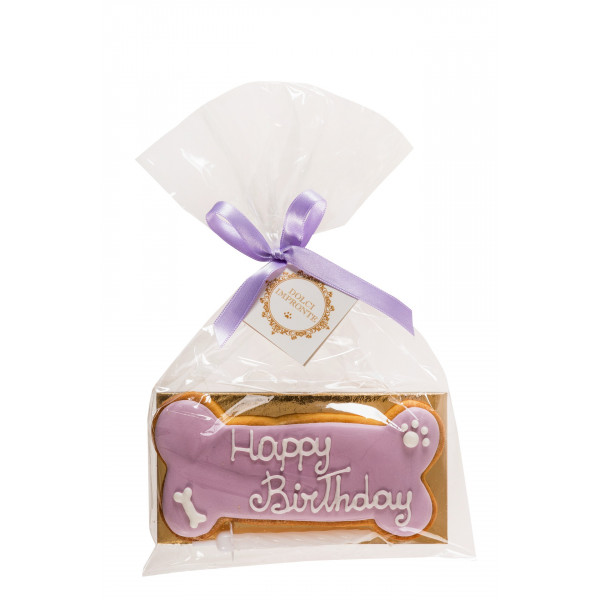 Dolcimpronte - Lilac Birthday Bone  - 72 gr
