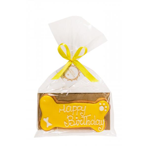 Dolcimpronte - Yellow Birthday Bone - 72 gr
