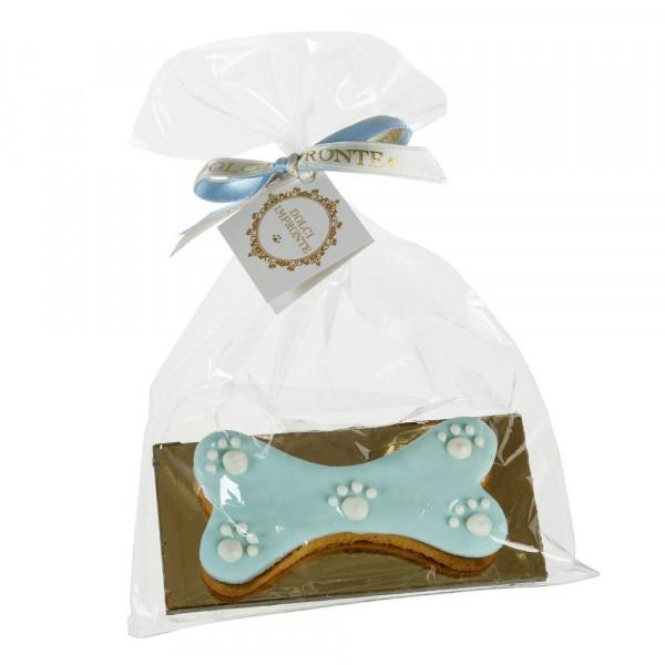 Dolcimpronte - Ossobiscotto Yogurt (azzurro) - 40gr ( ASL Prot.0088901/16)