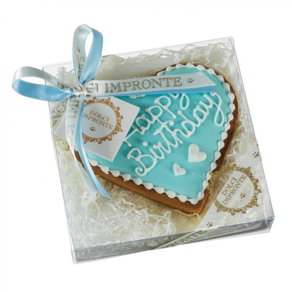Dolcimpronte - Cuore di Torta Azzurro