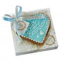Dolcimpronte - Cuore di Torta Light Blue - 110 gr (ASL Prot.0088901/16)