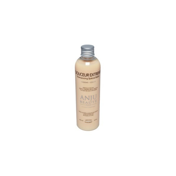 Anju Beautè - Shampoo for dogs' and cats' puppies, suitable for all types of breed and coat -Douceur Extreme 250 ml