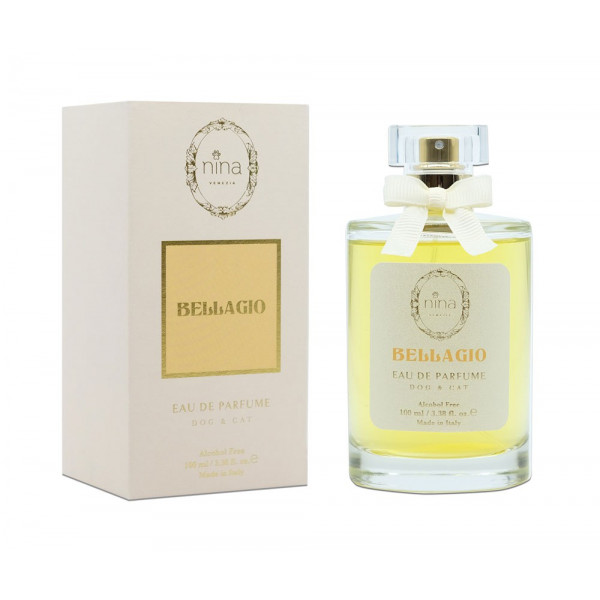 Nina Venezia® - Set 6 BELLAGIO with free Tester - Perfume Alcohol Free Milk and Vanilla - 100 ml