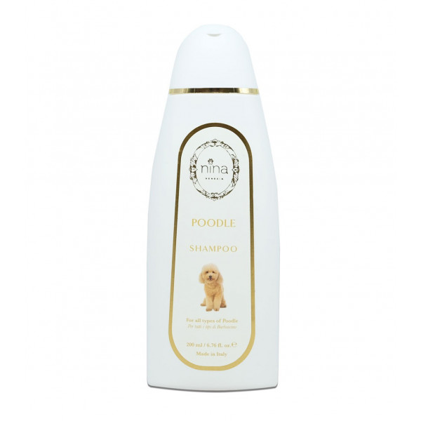 Nina Venezia® - POODLE - Shampoo Specifico Barboncini - Flacone 200 ml
