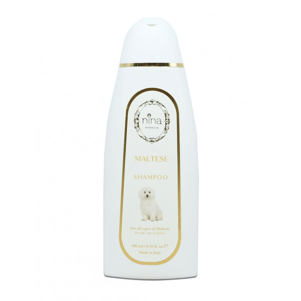Nina Venezia® - MALTESE - Shampoo Specifico - Flacone 200 ml