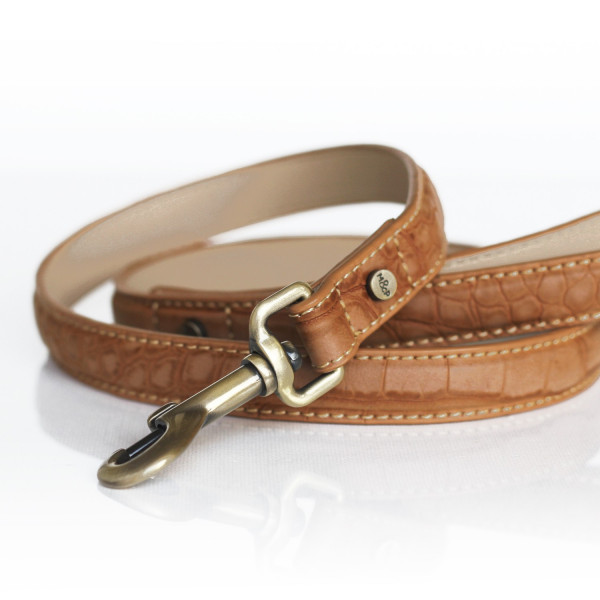 Milk&Pepper - Leash  Hogan Camel