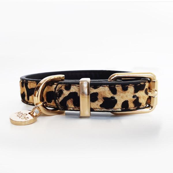Milk&Pepper - Collar Leopard - Leather