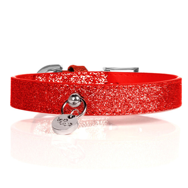 Milk&Pepper Leash  Collar - Red