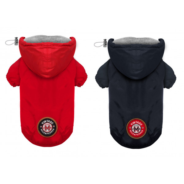 Milk&Pepper - Raincoat Winch  Navy - Red