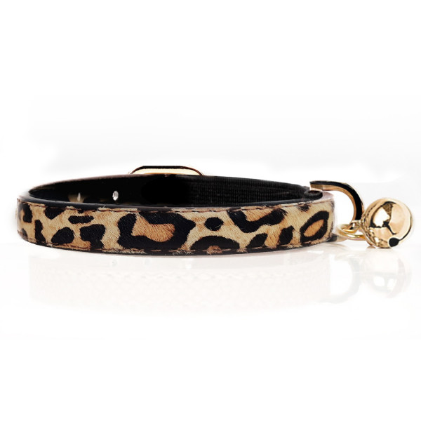 Milk & Pepper - Cat - Leopard collar
