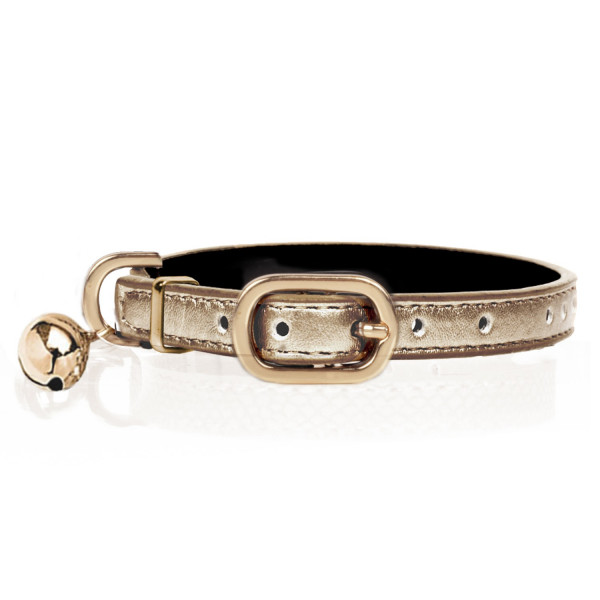 Milk & Pepper - Cat - Vega Collar - Gold