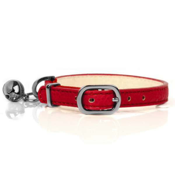 Milk & Pepper- Cat - Berlioz Collar - Red