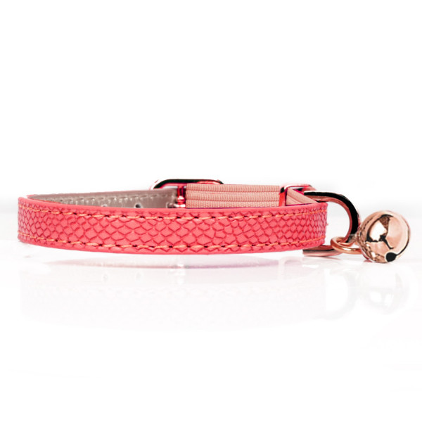 Milk & Pepper- Cat - Naja Collar - Pink
