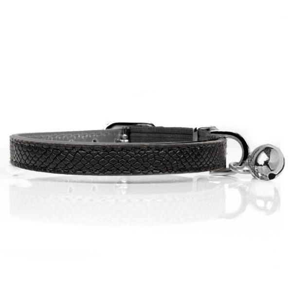 Milk & Pepper- Cat - Naja Collar - Black