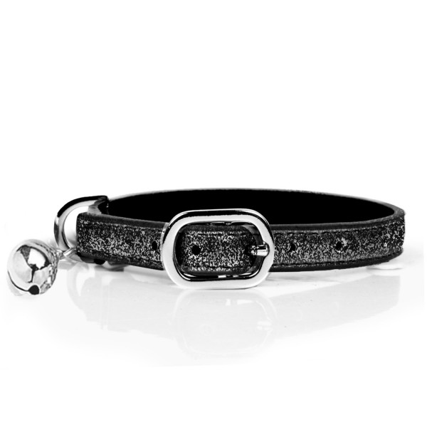 Milk & Pepper- Cat - Stardust Collar - Black