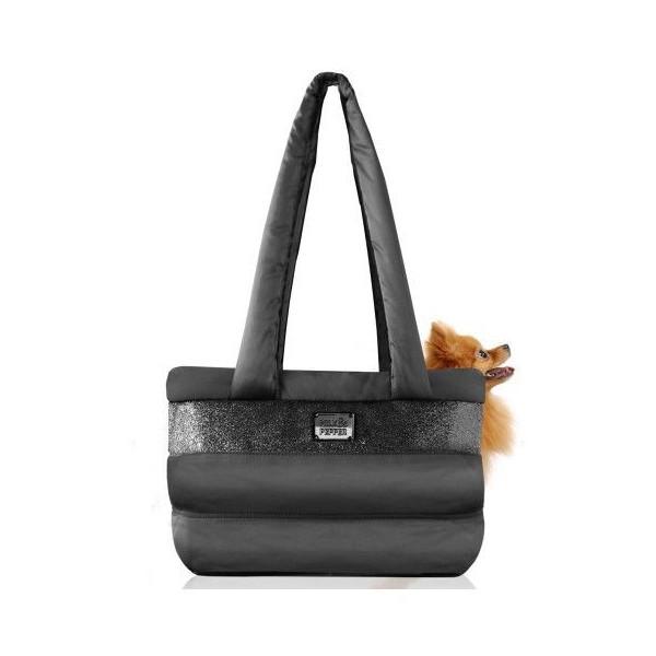 Milk&Pepper-  Caspule Bag- 40x20x32h cm - Black