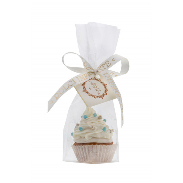 Dolcimpronte ® - Luxury Xmas Blue Shining Cupcake- 37 gr