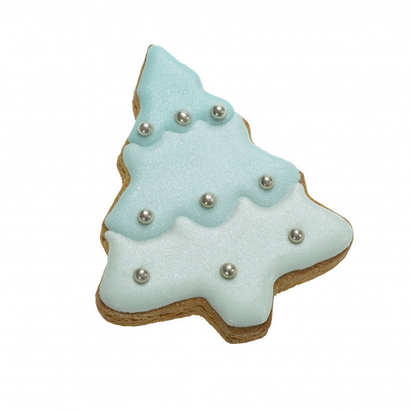 Dolcimpronte ® Luxury - Xmas Blue Shining Tree - 30 gr