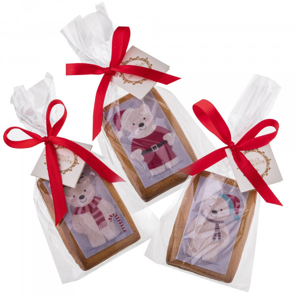 Dolcimpronte ® Classic - 3 Cookies Christmas Polar Bear 49 gr