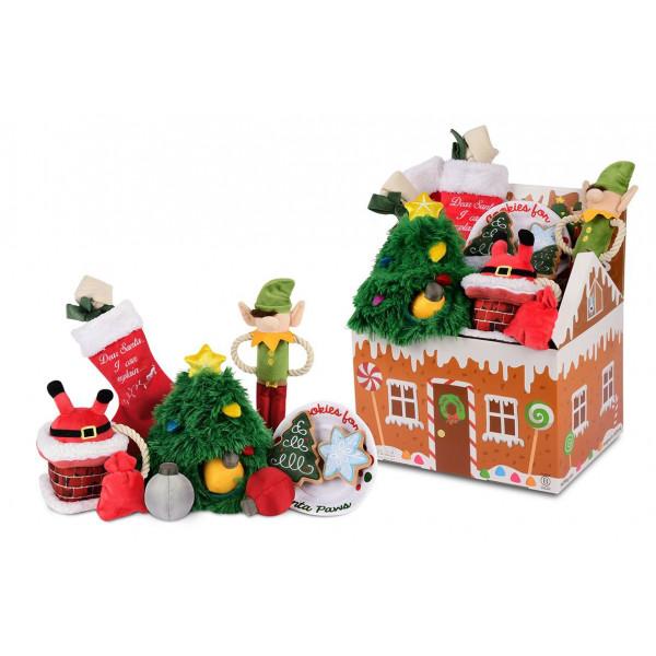 PLAY- Merry Woofmas Set - 15 Pezzi - Con Display -
