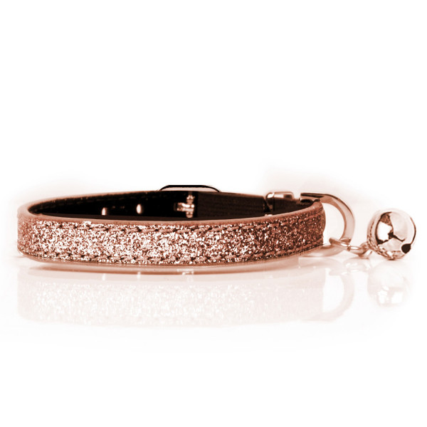 Milk & Pepper- Cat - Stardust Collar - Copper