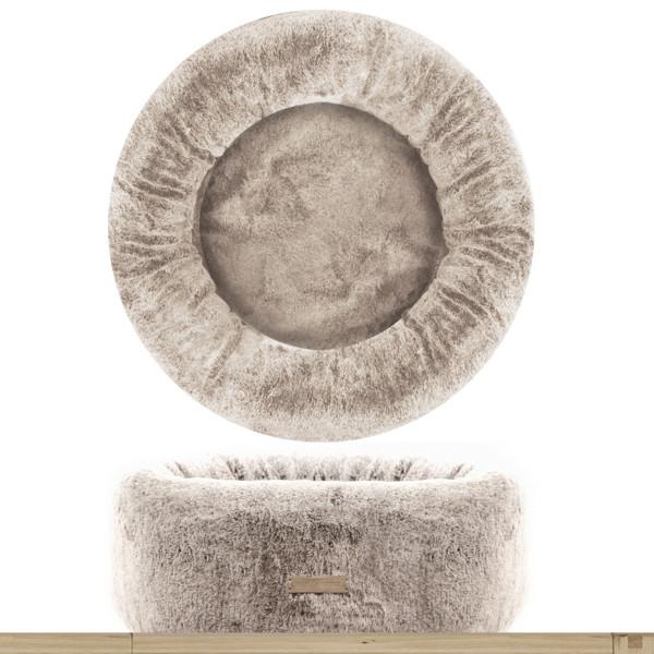Milk&Pepper - Cuccia Ecopelliccia Lagom- Rotonda - Beige  55x20hcm