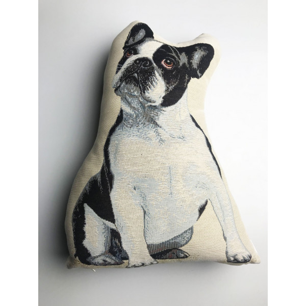 Doorstop - Bulldog - Made in Italy - 30x40hx8cm