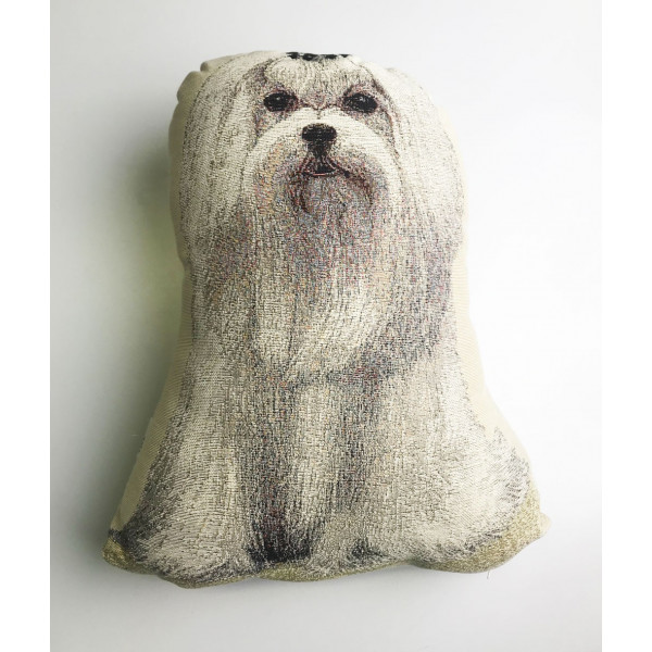 Doorstop - Maltese - Made in Italy - 30x8X40h cm