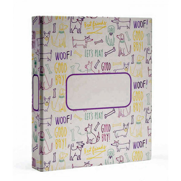 MYDOQS-Pet Document Binder - Woof