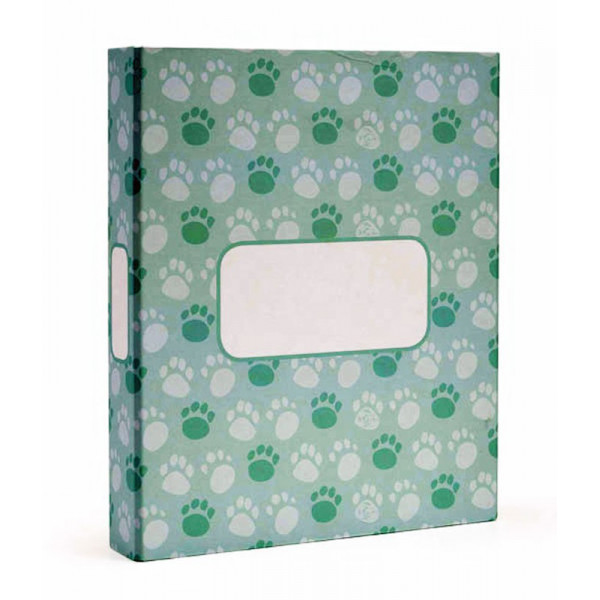 MYDOQS-Pet Document Binder - The Green Paws