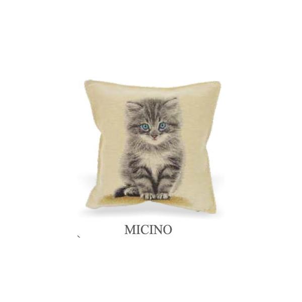 Cuscino 40x40cm - Micio - Made in Italy