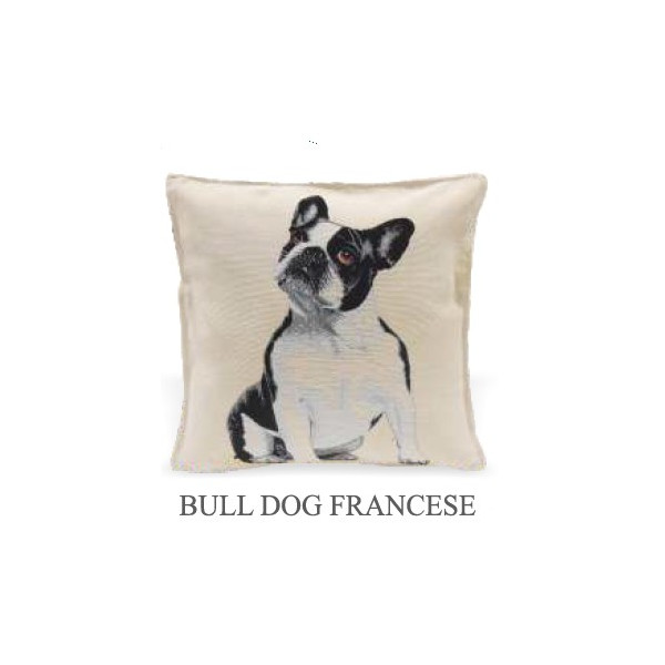 Cushion 40x40cm - Bulldog - Made in Italy
