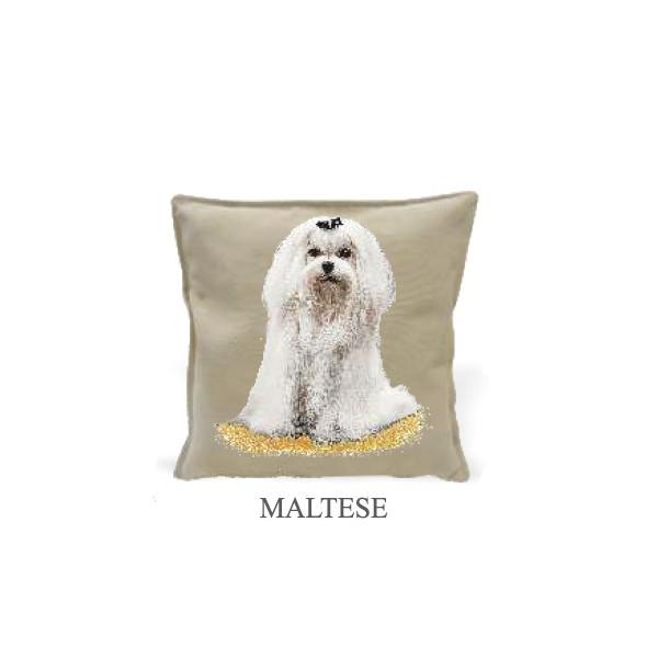 Cushion 40x40cm - Maltese - Made in Italy