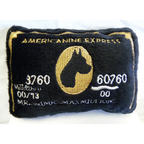 Dog Diggin - Gioco per Cani - Carta di Credito Americanine Express