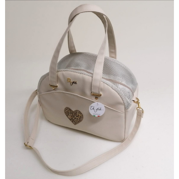 Eh Già - Cuty Beige Heart - Made in Italy -