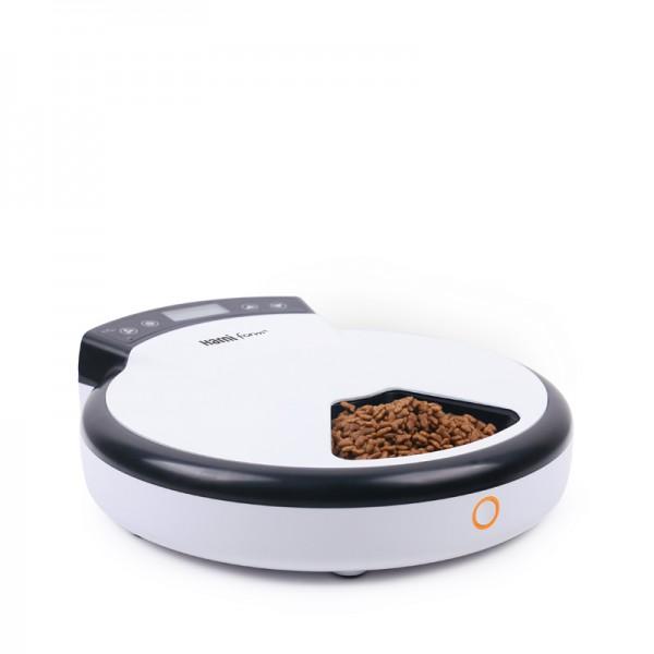 Automatic Pet Feeder 5 Meals Dispenser - Dog Cat-