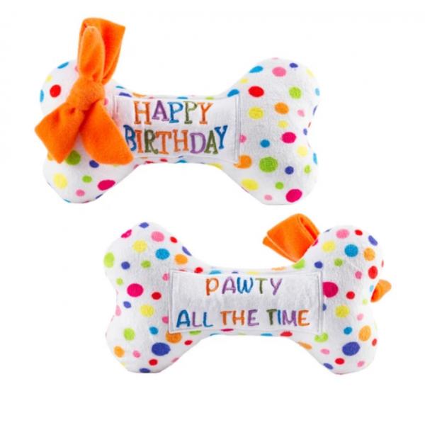 HDD- Happy Birthday Bone Small