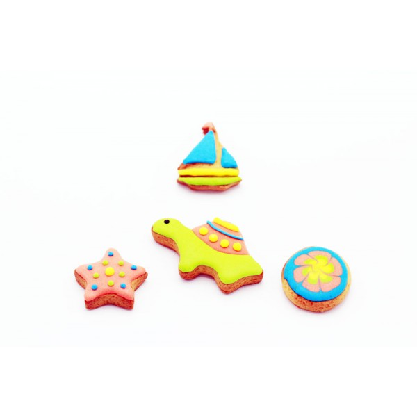 Dolci Impronte® - The Sea - 4 pieces pack - 62 gr