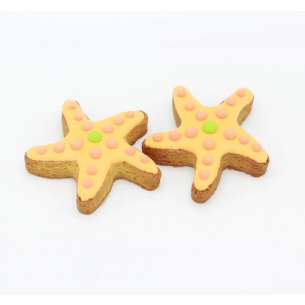 Dolci Impronte® - Starfish - 2 Pieces Pack - 80gr